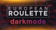 European Roulette - Dark mode
